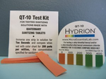 Quaternary Test Kit Strips 15 count