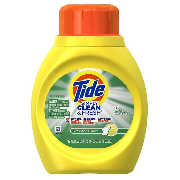 Tide Simply Clean & Fresh Daybreak Scent 25oz/ 6 count