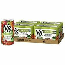 V8 Low Sodium Vegetable Juice 5.5oz/ 8/ 6 Count