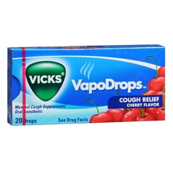 Vicks Vapo Drops Cherry 20 count