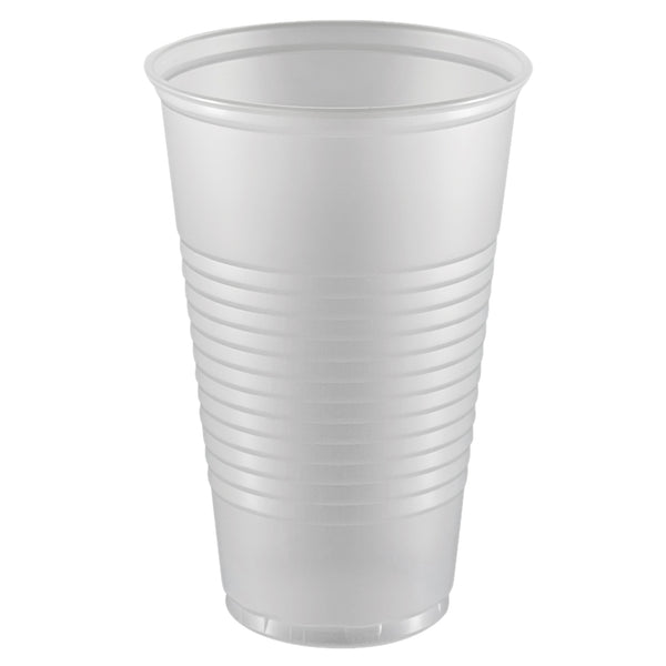 Cup Translucent Ribbed 16oz Y16T 1000 count