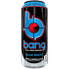 Bang Energy Drink Blue Razz 16oz/ 12 count