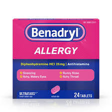 Benadryl Tablets 24