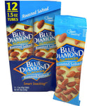 Blue Diamond Roasted Salted Almonds 1.5oz/ 12 count