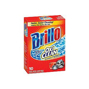 Brillo Soap Pads 10 count