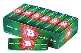 Bubblicious Watermelon 18 count