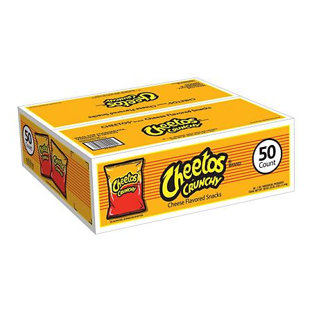 Cheetos Crunchy 1oz/ 50 count