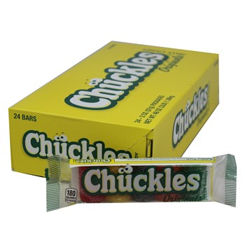 Chuckles Assorted Bar 2oz/ 24 count