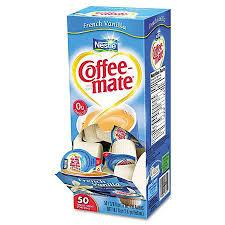 Coffee Mate French Vanilla Singles 4/ 50 count