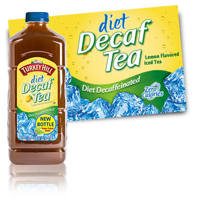 Diet Decaf Iced Tea 1/2 Gallon (must be ordered by 3's)