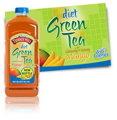 Diet Green Tea With Mango 1/2 Gallon (must be ordered by 3's)