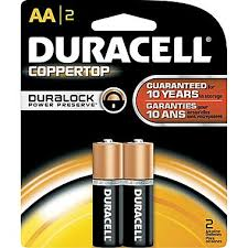 Duracell AA Batteries 2pk