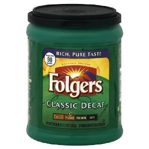 Folgers Decaf Classic Coffee 11.3oz