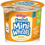 Kelloggs Frosted Mini Wheats cups 2.5oz/ 6 count
