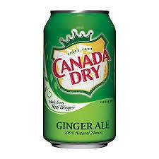 Canada Dry Ginger Ale 12oz/ 24 count