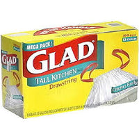 Glad Tall Kitchen Bag Drawstring 13 gal/ 20 count