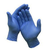 Nitrile Gloves Medium Powder Free 100 count