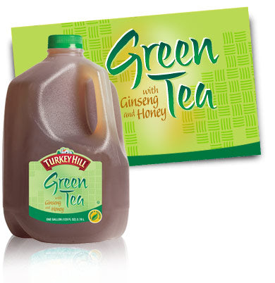 Green Tea Gallon (must be ordered by 4's)