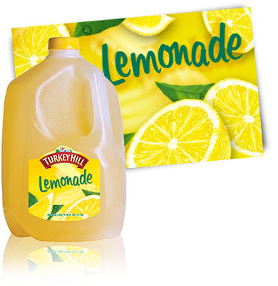 Lemonade Gallon (must be ordered by 4's)