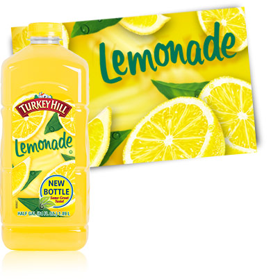 Lemonade 1/2 gallon (must be ordered by 3's)