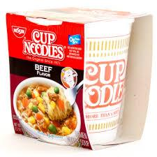 Nissin Beef Cup Of Noodles 2.25oz/ 12 count