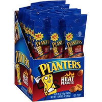 Planters Heat Peanuts Tube 2/$1.09 1.75oz/ 18 count