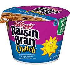 Kelloggs Raisin Bran Crunch Cup 2.8oz/ 6 count