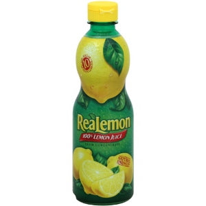 Real Lemon Juice Squeeze 15 oz