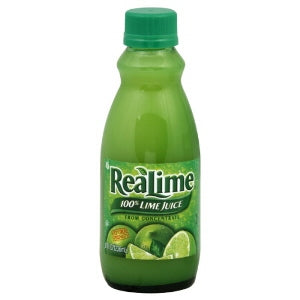 Real Lime 100% juice 8oz
