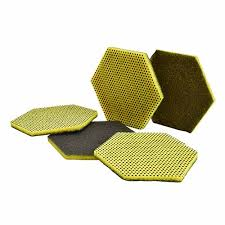 Scotch Brite Hex Pad Low Scratch 15 count