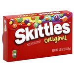 Skittles Theater Box 3.5oz/ 12 Count