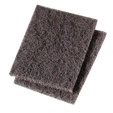 "Griddle Cleaning Pad 4""x5.25"" Scotch Brite Black 20count"