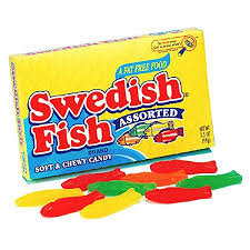 Swedish Fish Assorted Theater 3.5 oz/ 12 count