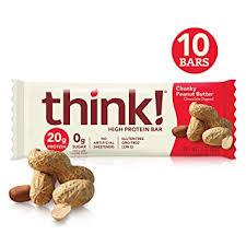 Think Thin Chunky Peanut Butter 10 count