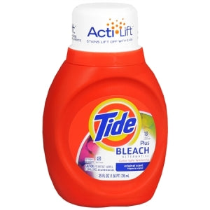 Tide 2x Liquid With Bleach Alternative 25oz 13 load/ 6 count