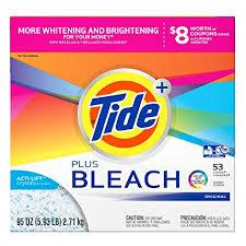 Tide with Bleach Alternative Powder 5.5oz 3 load/ 14 count