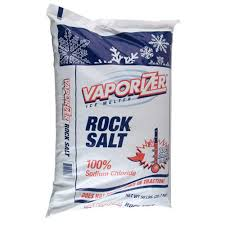 Rock Salt (Vaporizor) Pure Sodium Chloride 25 LB