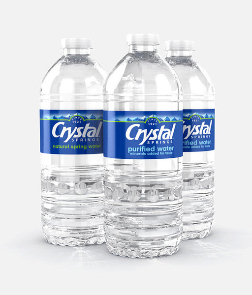 Crystal Springs Purified Water .5L/ 24 count