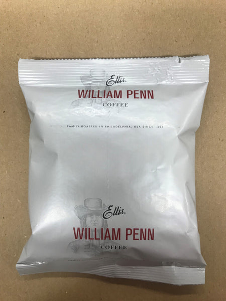 Ellis William Penn Coffee 1.5oz/ 42 count (filters included)