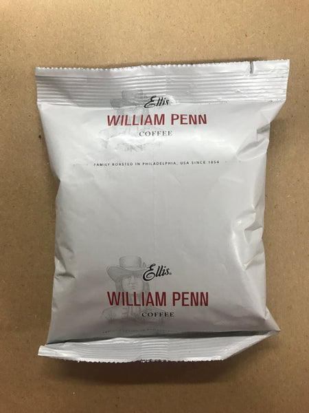 Ellis William Penn Coffee 1.75oz/ 42 count (filters included)