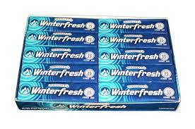 Wrigley Winterfresh .35¢ 20 Count