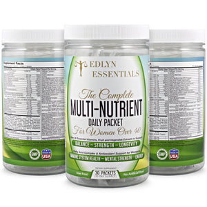 Bundle 3-EdLyn Essentials The Complete Multi-Nutrient for Women Over 40 -Buy More Save $45