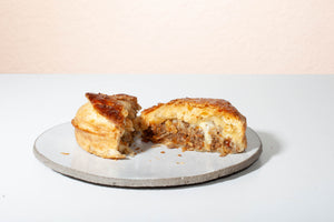 Minced Beef & Cheese Pie
