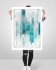Fine Art Paper Print /  Abstract 333-002 / Portrait Orientation