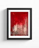 Fine Art Paper Print /  Abstract 333-014 / Portrait Orientation