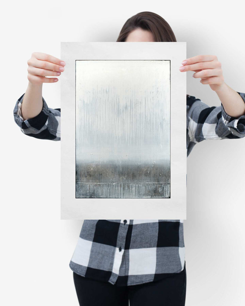 Fine Art Paper Print /  Abstract 333-016 / Portrait Orientation