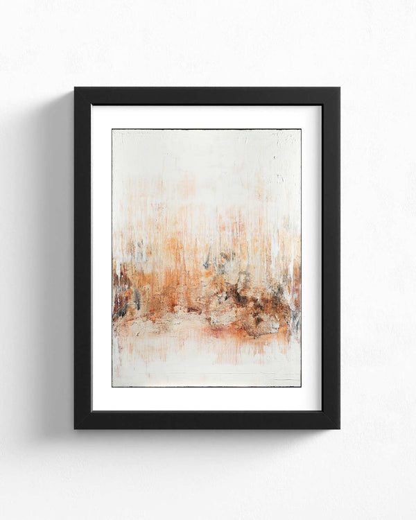 Fine Art Paper Print /  Abstract 333-017 / Portrait Orientation