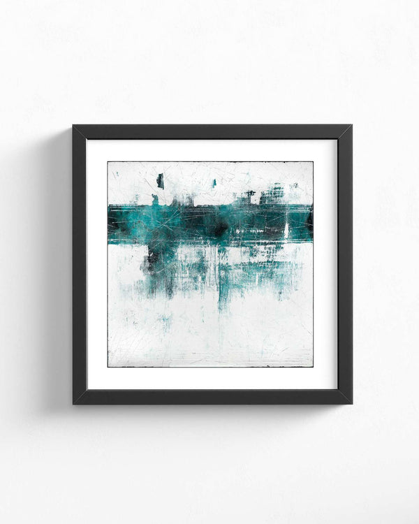 Fine Art Paper Print /  Abstract 333-019 / Square Orientation