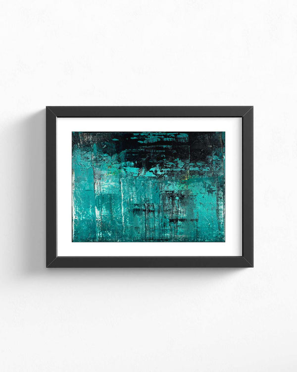 Fine Art Paper Print /  Abstract 333-031 / Landscape Orientation