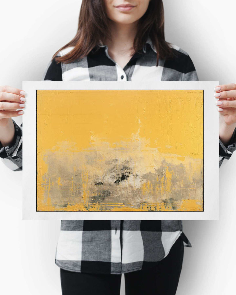 Fine Art Paper Print /  Abstract 333-034 / Landscape Orientation